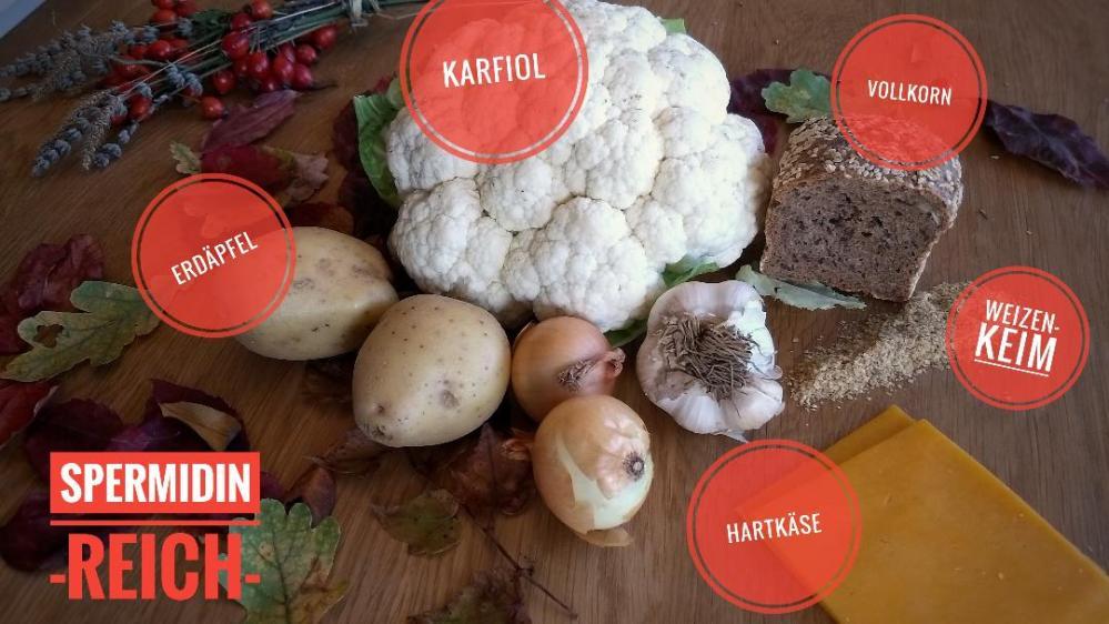 Zutaten Karfiolsuppe